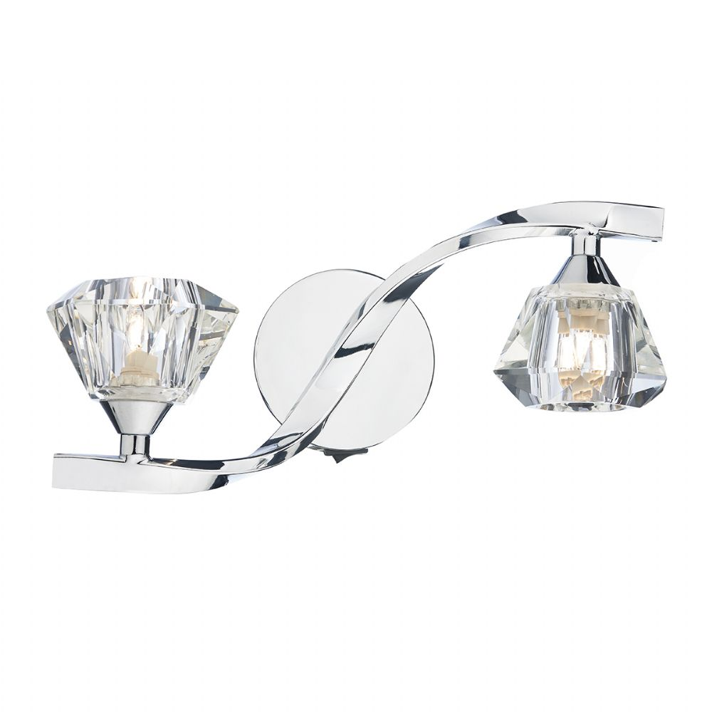 Ancona Double Wall Bracket Polished Chrome (Class 2 Double Insulated) BXANC0950-17